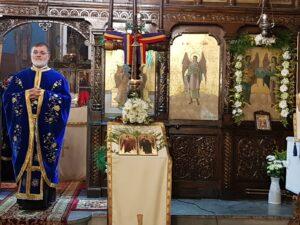 Biserica Sfintilor Arhangheli Mihail si Gavriil, Dascalu