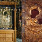 Icoana Maicii Domnului Portărița din Mănăstirea Iviron (Muntele Athos)